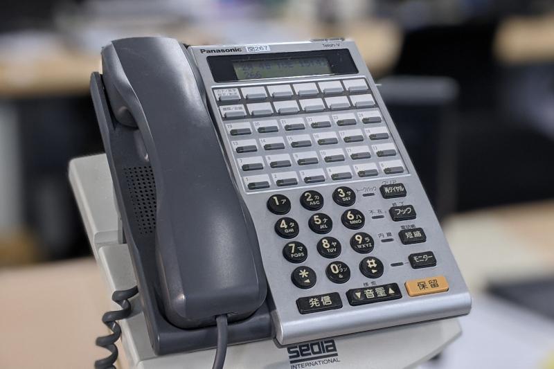 電話線再配線の事例