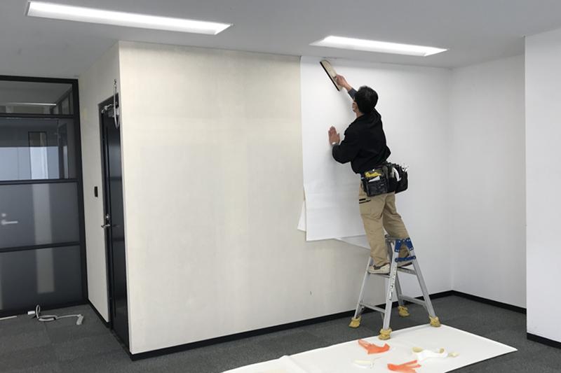 壁紙原状回復工事の事例